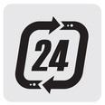 שירות 24 שעות